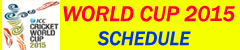 World cup 2015 schedule