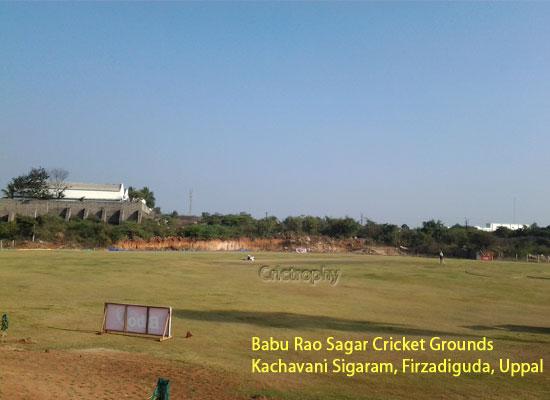 >Babu Rao Sagar Cricket Grounds  Kachavani Sigaram, Firzadiguda, Uppal, Hyderabad