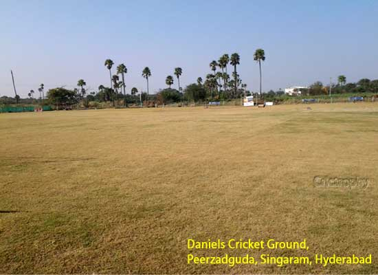 Daniel Cricket Ground, Kachavani Sigaram, Firzadiguda, Uppal, Hyderabad