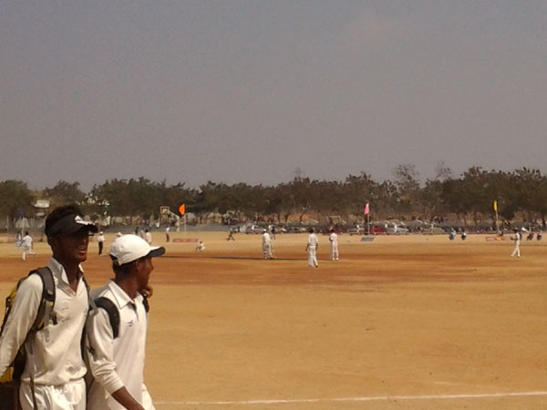JNTU Cricket Tournament Zone C ( Date: 25-Jan-2014 ), Hyderabad